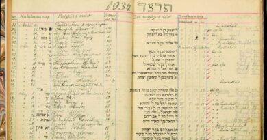 Registros pré-Holocausto retirados de leilão