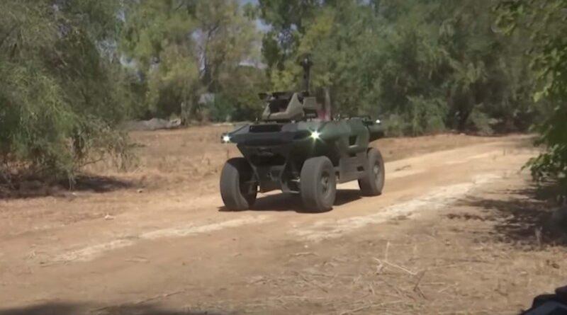 Veículo autônomo para zonas de batalha