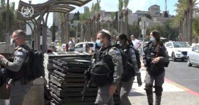 Forças de segurança em alerta máximo