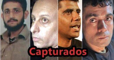 Israel captura quatro fugitivos