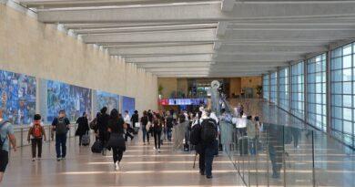 entrada de turistas em Israel