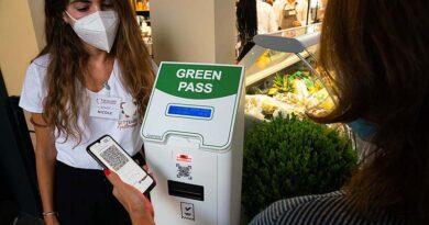 Passaportes verdes deverão ser escaneados