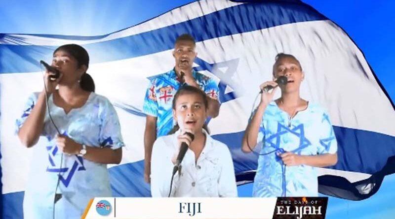 Cristãos cantam paz de Israel