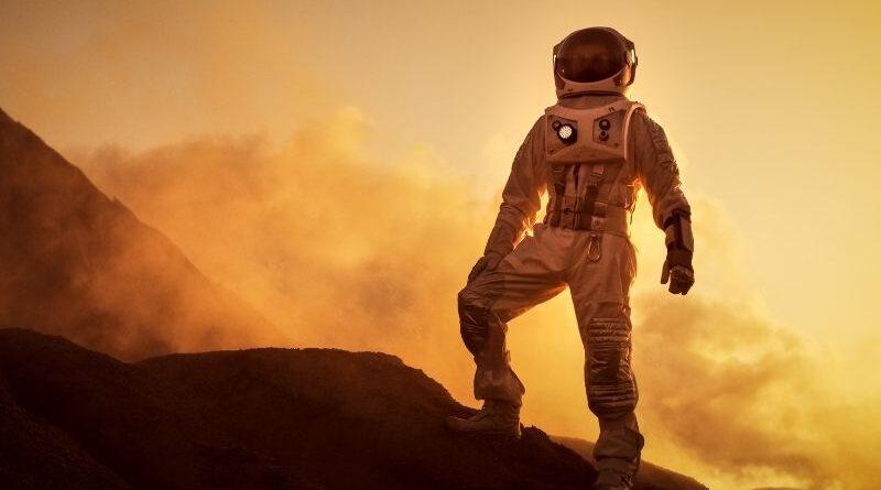 deserto para se preparar para Marte