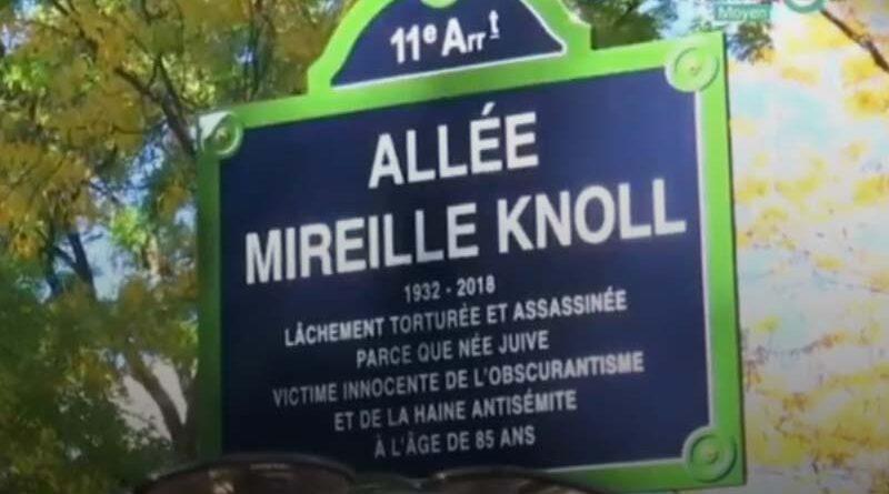 Rua em Paris homenageia sobrevivente